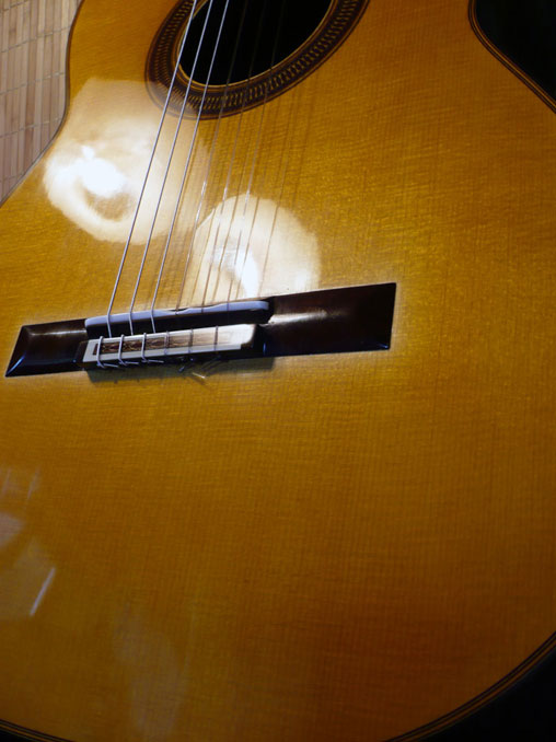 Matthias Dammann guitar with German spruce top